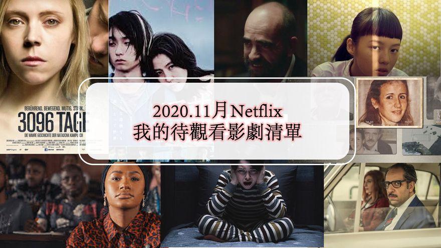 2020.11月Netflix我的待觀看影劇清單|10部影劇追起來《母子情劫》《靈異調查員》《米達斯之僕》